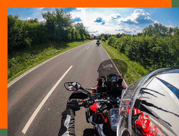 KTM 790 Adventure Africa Twinauf Motorradtour - VIP Tourenfahrer